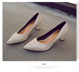 Women's High Heels Pointed Head Shoes
