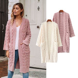 Women's Long Sweater Coat