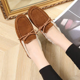 Cotton Warm Fur Pedal Lazy Scoop Shoes