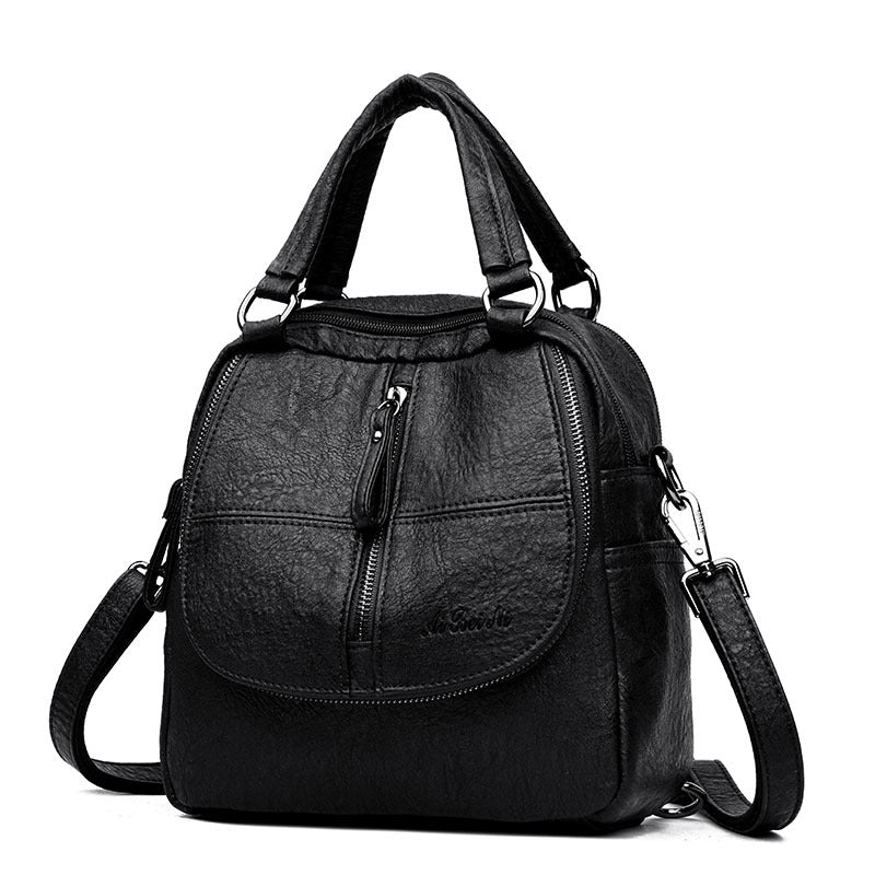 Multifunctional Soft Leather Wild Shoulder Bag