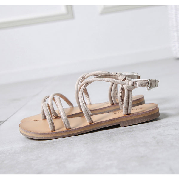 Roman Sandals Female Summer Flat Simple Shoes