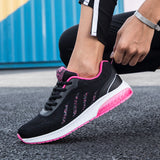 Black Lightweight Running Shoes