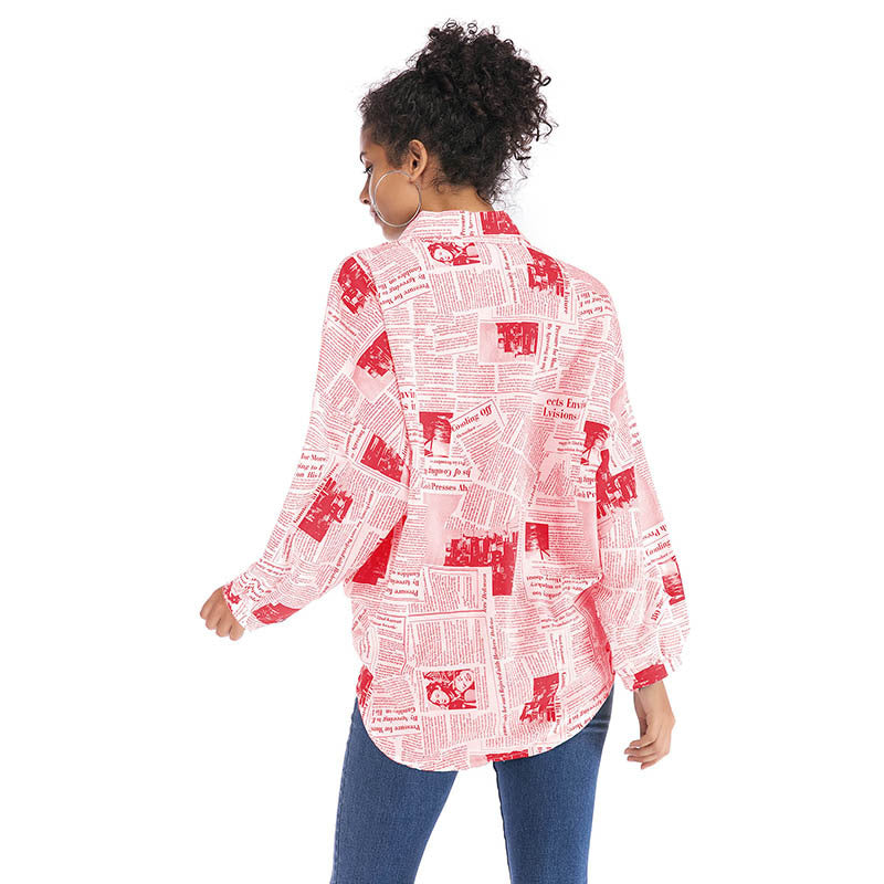 Women's Wild Long Sleeve Shirt