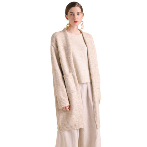 Women's Comfortable Soft Wool Blend Cardigan