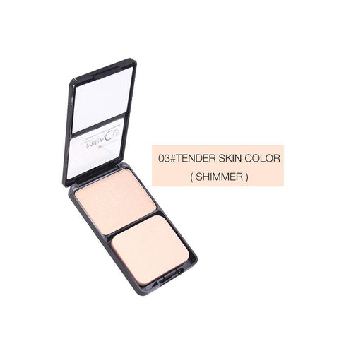 Oil Control Makeup Powder, Pearlescent Micro-flash Lasting Makeup