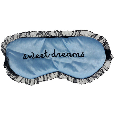 Cute Lace Sleeping Eye Mask Blindfold Shade Sleep Aid Satin