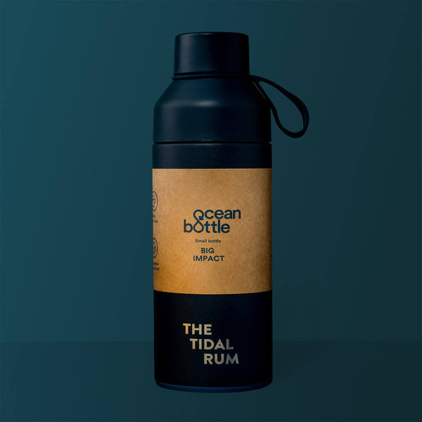 THE TIDAL RUM OCEAN BOTTLE
