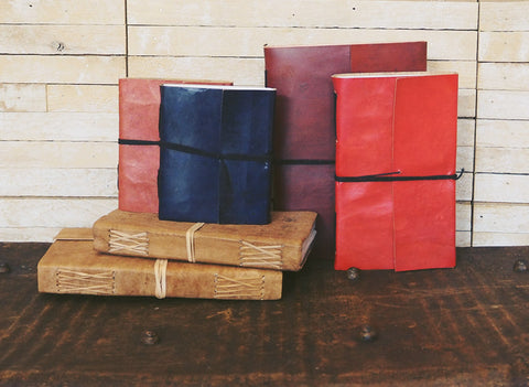 uscha handmade leather bound journals