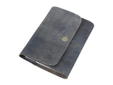 Refillable Leather Journal Vintage Black A6