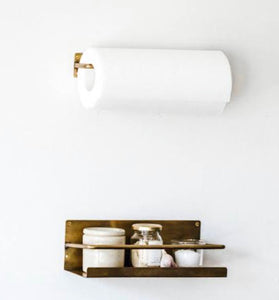 Brass Fitting - Paper Holder
