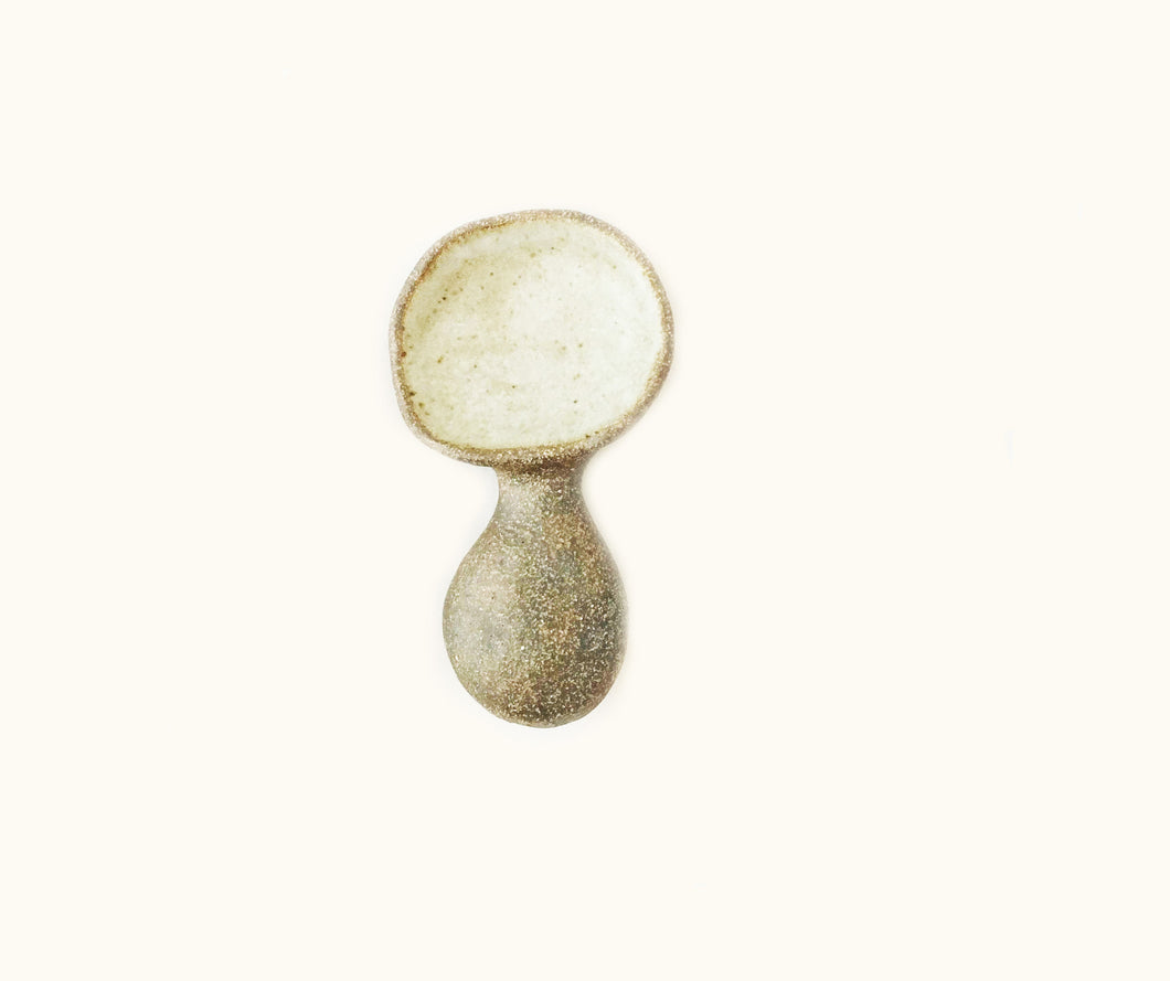 Scoop Spoon - Earthy Stoneware
