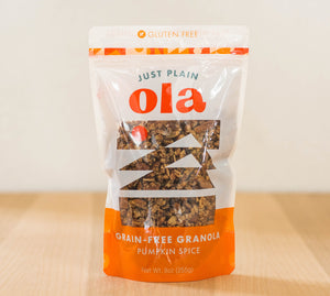 Pumpkin Spice Grain-free Granola 9oz bag (Seasonal)