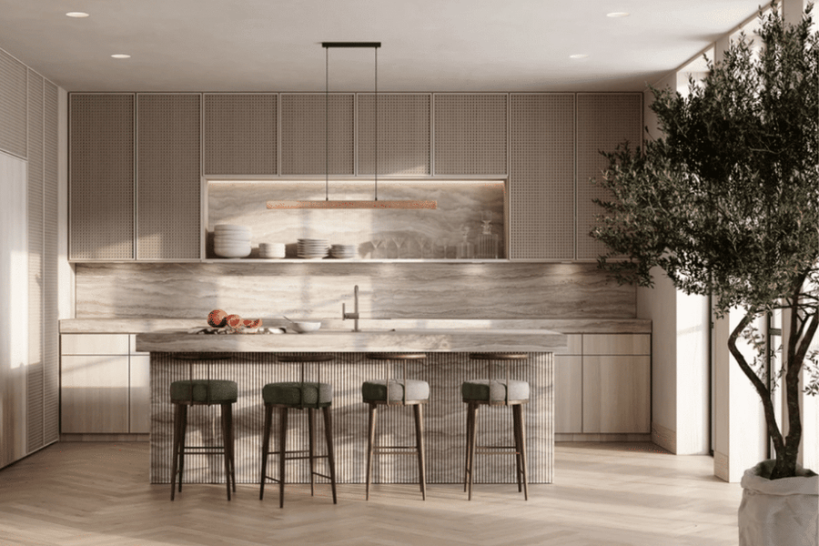 Japandi is the mixture of two popular interior design origins: a hybrid of Japanese and Scandinavian aesthetic sensibilitie