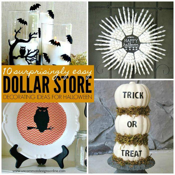 10 Surprisingly Easy Dollar Store Halloween Decorating Ideas