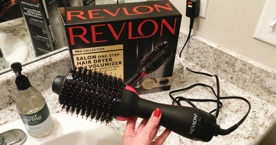 Revlon One-Step Hair Dryer & Volumizer Deal Just $33 at Target.com (Regularly $60)
