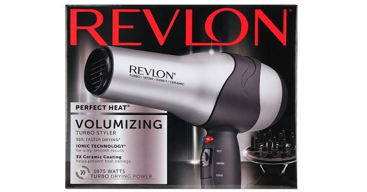 Revlon Volumizing Turbo Hair Dryer – Only $9.52!