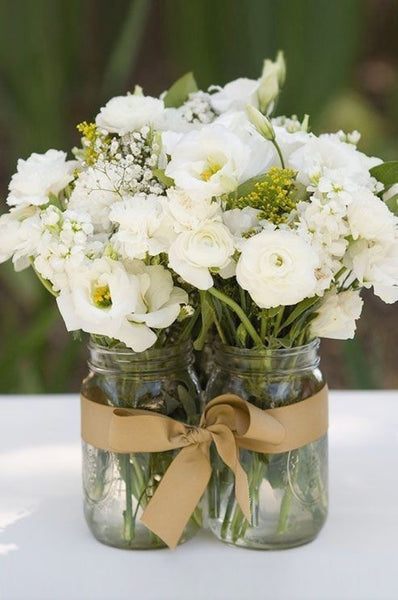 Excellent Mason Jar Flower Arrangements