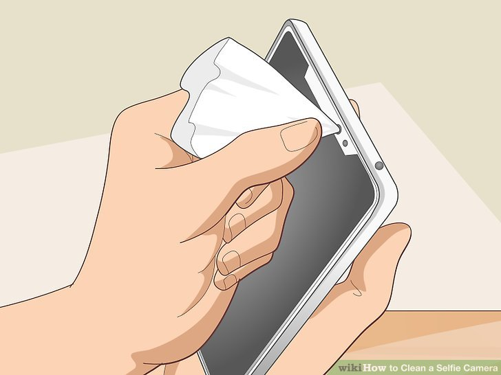 How to Clean a Selfie Camera