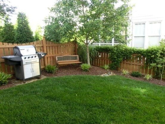 Large Space Simple Backyard Ideas