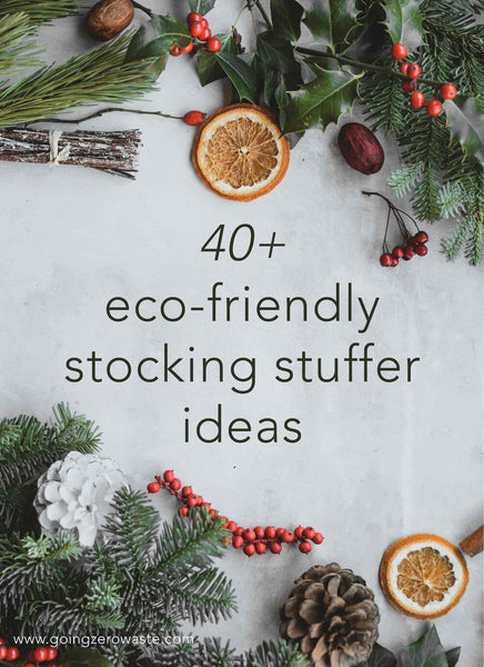 40+ Eco-Friendly Stocking Stuffers