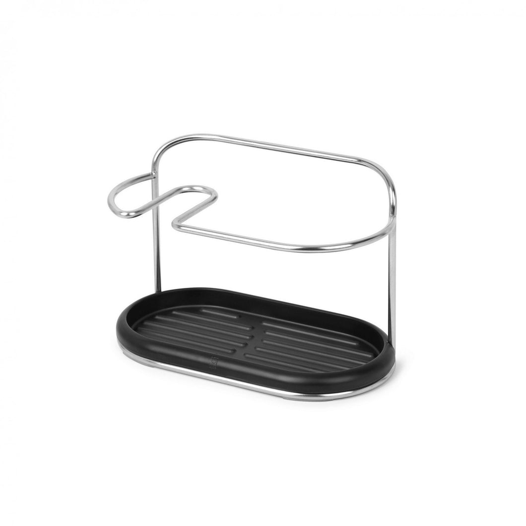 Butler Sink Caddy - Black/Nickel