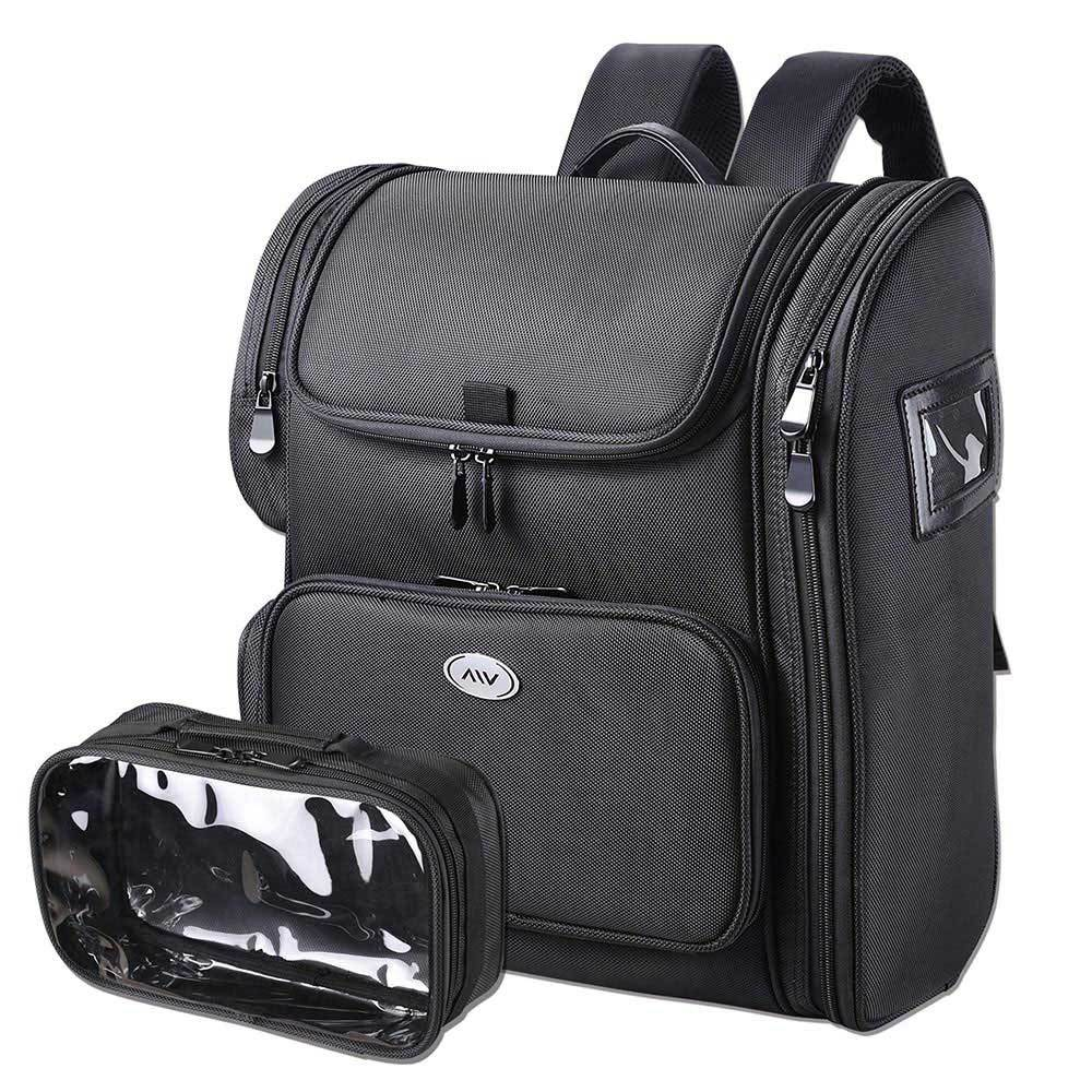 AW Makeup Backpack Durable Backpack Lightweight