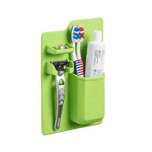 1PC toothbrush holder Toiletries Toothpaste Holder Bathroom Sets Suction Hooks Tooth Brush container candy color on sale
