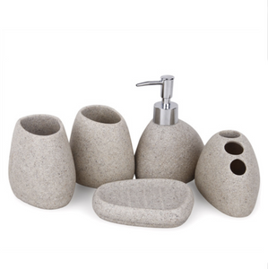Stone 6 Piece Bath Set