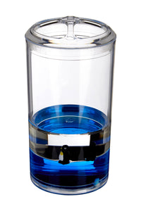 PREMIER ACRYLIC TOOTHBRUSH HOLDER WITH FLOATING