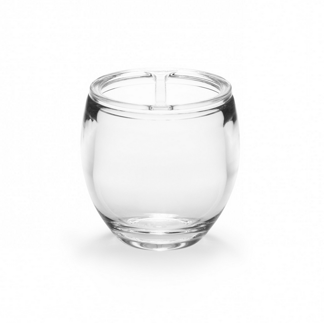 Droplet Toothbrush Holder, Clear