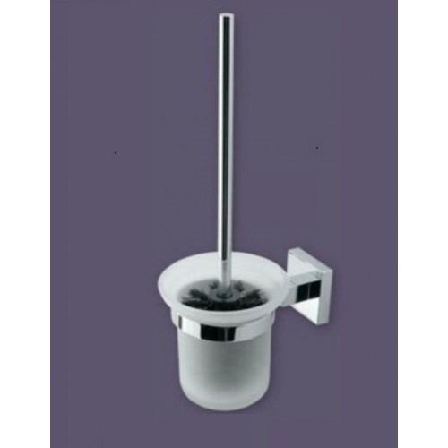 Eastbrook Bathroom and Toilet Accessories Rimini Glass Brush Holder