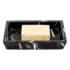 Rhodes Nero Marble Bathroom Accessories