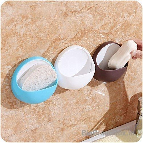 Round Wall Mounted Drain Soap Dish