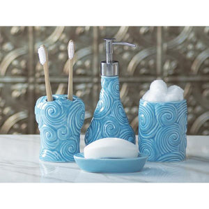 Designer - 4 Piece Bathroom Accessories Set