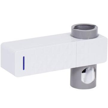 Bathroom Wall Hanging Toothbrush Holder Toothpaste Squeezer