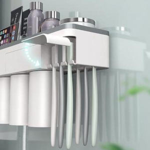 Magnetic Absorption Inverted Toothbrush Holder