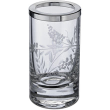 Load image into Gallery viewer, Barocco Hand Carved Glass Round Table Toothbrush Toothpaste Holder Bath Tumbler