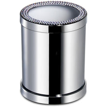 Load image into Gallery viewer, ShineLight Round Toothbrush Holder W/ Swarovski Crystals