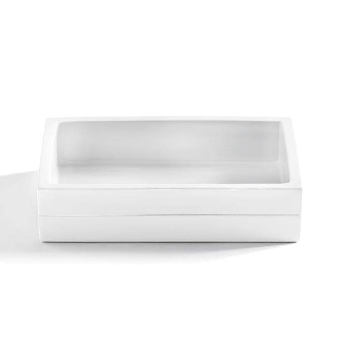 Cabana White Bathroom Accessories