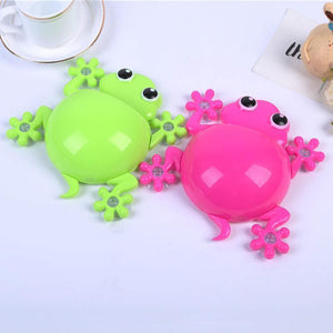 Gecko Toothbrush Holder Wall Suction Hook Tooth Paste Holder