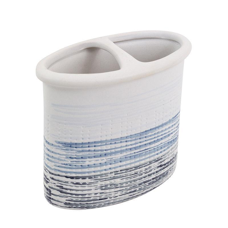 Croscill Nomad Blue Toothbrush Holder