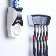 Load image into Gallery viewer, Automatic Toothpaste Dispenser Toothbrush Holder