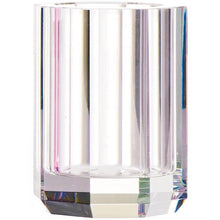 Load image into Gallery viewer, DWBA Round Bathroom Toothbrush Holder Standing Toothpaste Tumbler, Glass