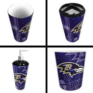 Baltimore Ravens NFL 4-Piece Bath Set