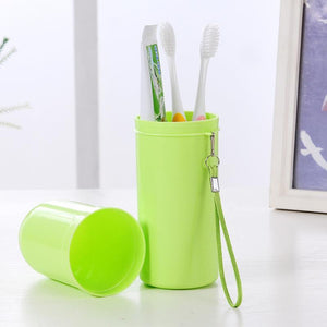 Travel Set Toothbrush Cup Storage Box Home Organizer On sale