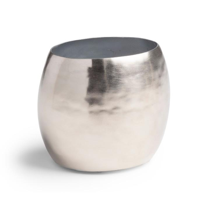 Nile Silver Toothbrush Holder