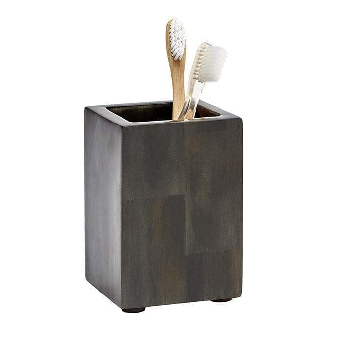 Arles Dark Faux Horn Bathroom Accessories