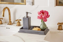 Load image into Gallery viewer, Porto Pewter Aluminum Bathroom Accessories