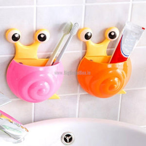 Snails Wall Sunction Toothbrush Holder