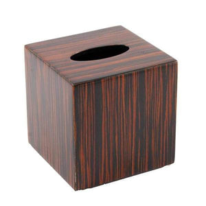 Macassar Ebony Inlay Lacquer Bathroom Accessories